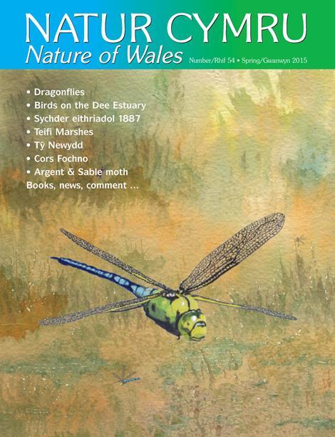 Natur Cymru cover issue 54