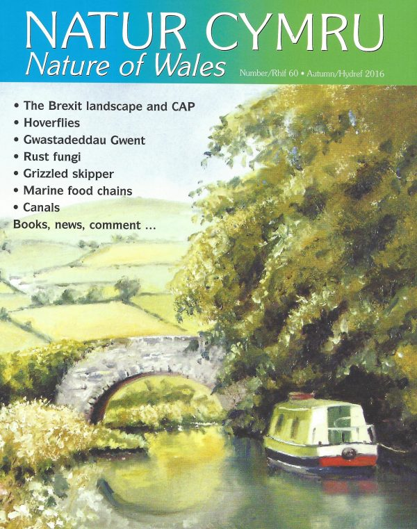 Natur Cymru cover issue 60
